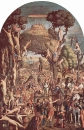 Мученичество десяти тысяч. 1516. Галерея Академии. Венеция