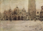 Площадь Св.Марка в Венеции. 1887