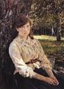 Девушка, освещенная солнцем (Портрет М.Я.Симонович). 1888