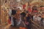 Коронация. Миропомазание Николая II в Успенском соборе. 1896