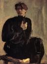 Портрет писателя А.М.Горького. 1905