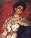 Портрет М.Н.Акимовой. 1908