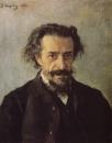 Портрет композитора П.И.Бларамберга. 1888