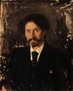 Портрет художника И.Е.Репина. 1892