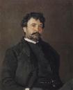 Портрет итальянского певца Анджело Мазини. 1890