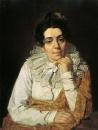Портрет Марфы Афанасьевны Венециановой, урожденной Азарьевой 1780-1831, жены художника,