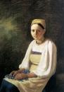 Крестьянка с васильками. 1820-е, ГТГ