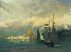 На Неве. 1869-1871
