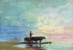 На берегу моря. 1871-1873