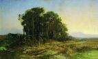 Сосновая роща у болота. 1871-1873