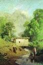 Крымский пейзаж. 1871-1873