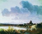 У водопоя. 1868