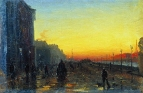 Заря в Петербурге. 1870