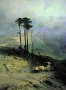 В Крымских горах. 1873