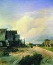 Деревенская улица. 1868