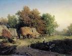 Деревня. 1869