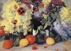 Цветы, лимоны, апельсины. 1953