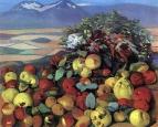 Осенний натюрморт. Плоды созрели. 1961