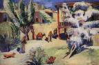 Ереванский дворик весной. 1928