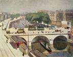 Мост Сен-Мишель в Париже. ГМИИ им.Пушкина