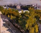 Вид Лувра  1906-1907. Государственный Эрмитаж , Санкт-Петербург