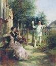 Надоел. 1886 Холст, масло. Пермь