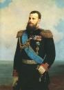 Портрет имп. Александр III (на задн. плане - Одесса). 1883 Х., м. 123.5x98