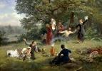 Воскресный день. 1884 Холст, масло. Харьков
