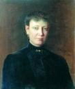 Женский портрет. 1886 Холст, масло. Р-на-Д