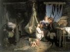 Возвращение из города. 1870 Холст, масло. 63x88 ГТГ