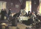 В монастырской гостинице. 1882 Холст, масло. 106x150 ГТГ