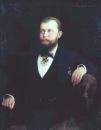 Портрет золотопромышленника и исследователя А.М. Сибирякова. Холст, масло. Иркутск