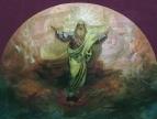 Бог Саваоф. Эск. росп. собора в городе Ельце. Ставрополь