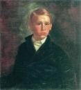 Автопортрет. 1850 Холст, масло. ГРМ