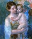 Мать, держащая своего ребенка