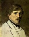 В. Г. Перов. Портрет И. М. Прянишникова. Около 1862.