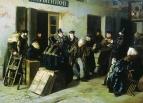 Шутники. Гостиный двор в Москве, 1865