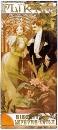 Рекламный плакат печенья  Lefevre Utile. Флирт 1899