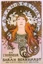 Рекламный плакат для Сары Бернар 1896