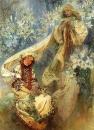 Мадонна в лилиях 1905