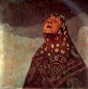 Зимняя ночь. Фрагмент 1920