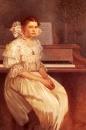 Портрет Милады Герни 1916