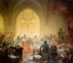 Славянский эпос. Гуситский король Иржи Подебрадский 1925