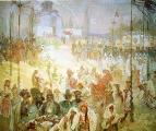 Славянский эпос. Коронация сербского царя Стефана Душана Византийским императором 1926