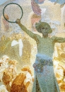 Славянский эпос. Введение славянской литургии. Фрагмент 1912