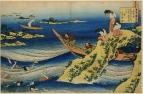 Санги Такамура (Sangi Takamura) (Оно-но Такамура) (802-853). Ныряльщицы и лодки