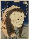 O-iwa-san, отравленная неверным мужем и являвшаяся ему впоследствии