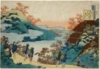 5.Сарумару-даю (Sarumaru Dayu) (рубеж  VII-VIII веков)_Олени на холме в окружении красных кленов