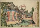 Сцена из истории китайского героя Фэн Хуая (Ханкая) 1779-1793