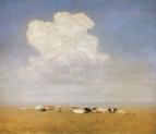 Полдень. Стадо в степи. 1890-1895